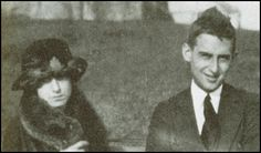 Dorothy Parker (born Dorothy Rothschild) and Edwin Pond Parker - her first husband. She married Alan Campbell twice.
