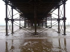 Under the pier, Cromer, Norfolk.