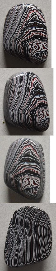 Other Loose Stones 169310: Wrg- Fordite Detroit Agate Designer Cabochon Gemstone One Of A Kind Freeform -> BUY IT NOW ONLY: $30 on eBay!