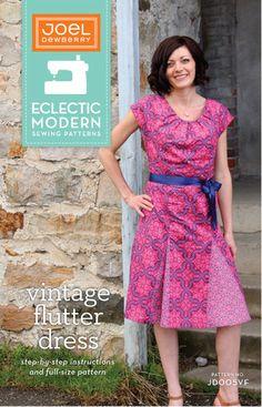 "Joel Dewberry vintage flutter dress pattern ""modern ecclectic"" patterns"