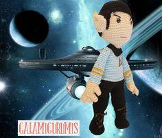 Patrón Gratis de Mr. Spock Amigurumi  http://www.galamigurumis.com/patron-de-mr-spock-amigurumi/