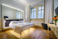 Hotel Golden Star is located in Nerudova Street in the historical center only a few steps from the Prague Castle Gate; Furniture, Hotel, Places, Castle Gate, Home Decor, Bed