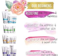 Rodan + Fields has many clinically proven products and regimens perfect for your skin.
