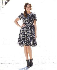 Daisy Printed Doll Dress