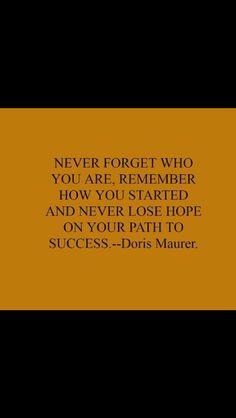 #DorisMaurerWords