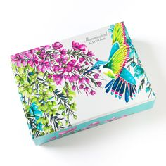 Hummingbird Blossoms Assorted Boxed Notes (Set of 20)