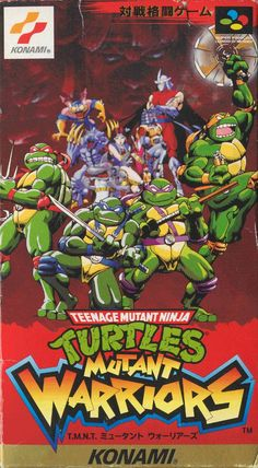 Teenage Mutant Ninja Turtles - Mutant Warriors Snes