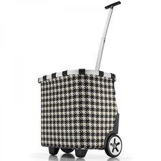 Carrycruiser fifties black - reisenthel #black #white #trolley #shopping