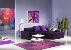 I'm loving the #purple.. #living room