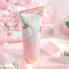 Ted Baker New Fragrant Bloom Collection Vegan Perfume, Makeup Package, Cosmetic Packaging, Hand Lotion, Everything Pink, Hand Cream, Pink Aesthetic, Bath And Body Works, Pastel Pink