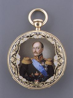 Watch, ca. 1850–55  Firm of François Czapek (Swiss, born 1811, recorded 1839–65)  Case of enameled gold; dial of painted enamel; movement of gilded brass and steel