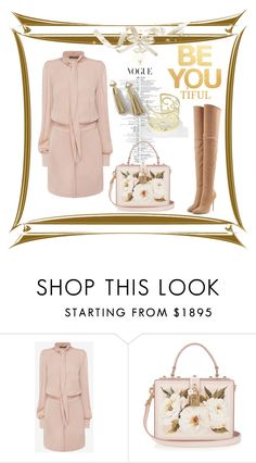 """Be You"" by freida-adams ❤ liked on Polyvore featuring WALL, Alexander McQueen, Dolce&Gabbana, Balmain, jewlery, tassel and bellastreasure"