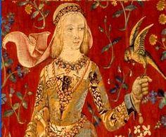 Blanche of Lancaster Daughter of Henry of Grosmont, Duke of Lancaster and Isabel de Beaumont. Wife to John of Gaunt, Duke of Lancaster John Of Gaunt, Medieval Tapestry, Medieval Art, History Of England, British History, Tudor History, Adele, Duke Of Lancaster, Unicorn Tapestries