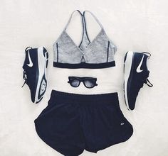 Classy workout outfit! #Fitgirlcode #fashion #workout