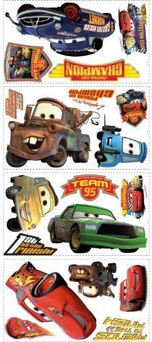 Toy Story Wall Sticker Construction Truck Wall Decals Kids Race Car Wall Decals #RoomMates #Modern