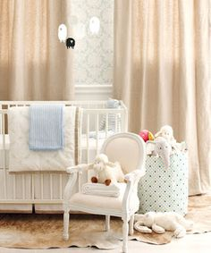 The Final Touch: Style at Home - High/low Nursery Room