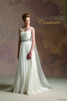 Jasmine Bridal is a premier wedding dresses designer of wedding dress and gowns. Browse our romantic, glamorous, boho-inspired, rustic, and simple wedding dress collections today! Beach Bridal Dresses, Wedding Dresses Photos, Event Dresses, Wedding Dress Styles, Bridal Gowns, Bridesmaid Dresses, Greek Wedding Dresses, Bride Dresses, Dress Wedding