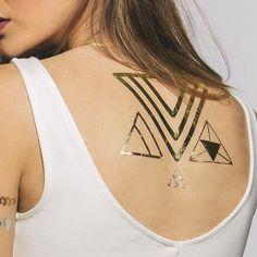 Shape Shifter Temporary Metallic Tattoos by Tattify
