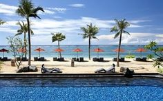 St Regis Bali - a luxury 5 star resort in Bali right on the beachfront in the exclusive locale of Nusa Dua.