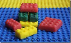 homemade kool aid playdough legos for goodie bags