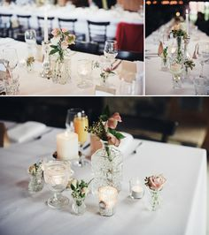 Wedding Table Decoration | A Couple Of Night Owls