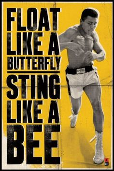 Muhammad Ali - Float Like A Butterfly - Official Poster