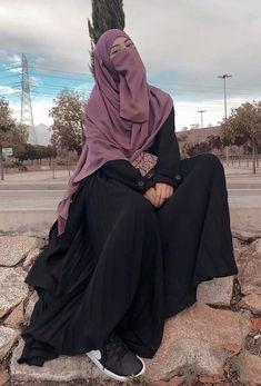 Niqab Fashion, Modest Fashion Hijab, Hijab Chic, Mode Abaya, Mode Hijab, Hijab Fashion Inspiration, Mode Inspiration, Muslim Girls Photos, Muslim Women Fashion