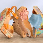 Love these retro sadals: Take a look at Korks by Kork-Ease on zulily today!