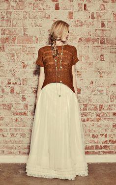 Long Soft Tulle Skirt
