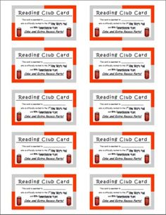 More AR CLUB packet pics... Accelerated Reader Rewards - Amanda Terhune - TeachersPayTeachers.com