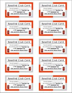 More AR CLUB packet pics... Accelerated Reader Rewards - Amanda Terhune - TeachersPayTeachers.com