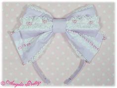 Angelic Pretty Whimsical Vanilla-chan Headbow (any color)