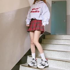 Korean Outfits image about ulzzang in korean outfits ahgasenoona Korean Outfits. Here is Korean Outfits for you. Korean Outfits image about ulzz. Kawaii Fashion, Cute Fashion, Asian Fashion, Spring Fashion, Girl Fashion, Fashion Design, Womens Fashion, Rock Fashion, Daily Fashion