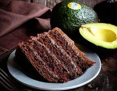 Chocolate Avocado Cake @FoodBlogs