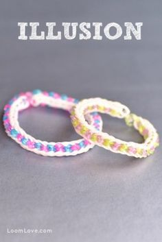 illusion rainbow loom