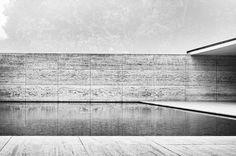 archatlas – Barcelona Pavilion by Ludwig Mies van der Rohe Jürgen Völkl. In Barcelona. Spain.