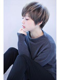 【畑中正敏】とろみカラー×モードショートボブ - 24時間いつでもWEB予約OK!ヘアスタイル10万点以上掲載!お気に入りの髪型、人気のヘアスタイルを探すならKirei Style[キレイスタイル]で。