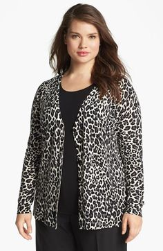 Sejour 'Fine Dine' Merino Wool Cardigan (Plus Size) available at #Nordstrom