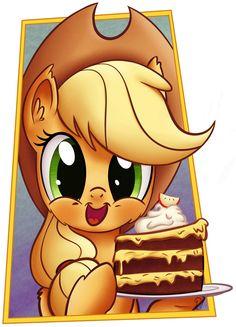 -Gift- Apple Cake by Pirill-Poveniy.deviantart.com on @deviantART