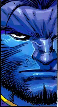 Beast by John Romita Jr Marvel Comic Books, Marvel Comics, Abigail Brand, Iron Man Spiderman, John Romita Jr, Jr Art, Jack Kirby, Comic Book Artists, Dark Horse