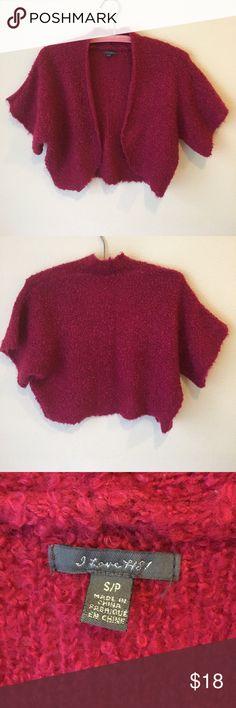 Fuchsia Shrug Sweater Cute Shrug style sweater Forever 21 Sweaters Shrugs & Ponchos