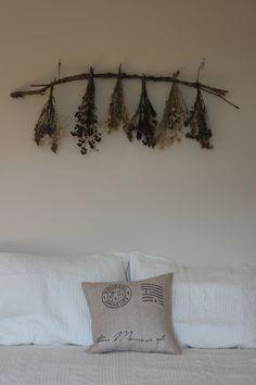 Dried Wildflower Garland