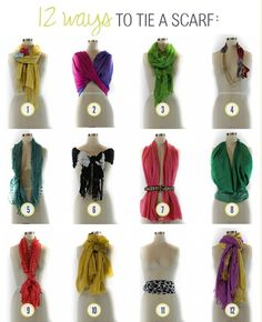 <3 love these scarves tips