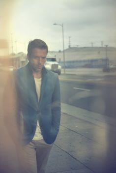 Damian Lewis - Mr. Porter - Blue Jacket