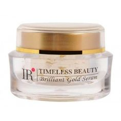 Timeless Beauty Brilliant Gold Serum softens and replenishes the skin around the neck an eye areas of your face. Timeless Beauty Brilliant Gold Serum also promotes cellular renewal by using natural herbal skin care ingredients along with flecks of gold which strengthens the skin and thus helps in regaining elasticity and freshness to it.  30ml
