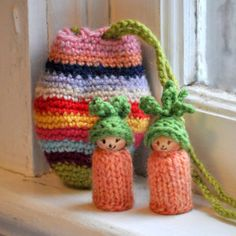 Carrots in an Egg Pouch by thiscosylife on Etsy