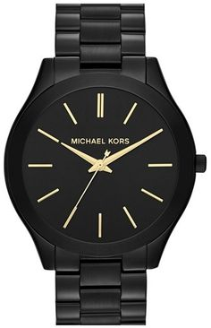 MICHAEL Michael Kors Michael Kors 'Slim Runway' Bracelet Watch, 42mm - $195.00
