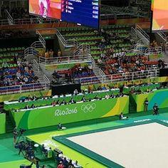 #incredible #gymnastics  #romania @Olympics #rio2016 @Olympicpark