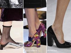 Fall/ Winter 2016-2017 Shoe Trends: Sequined Shoes