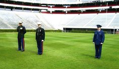 RETIRED MILITARY CHAPLAIN THOMAS JOHNSON IS AVAILABLE TO PERFORM WEDDING CEREMONIES, FUNERALS, AND ALL FORMAL FUNCTIONS IN FULL MILITARY DRESS UNIFORM!  UNIVERSITY OF GEORGIA BETWEEN THE HEDGES SANFORD STADIUM